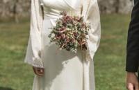Ramo de novia otoñal. Flores boda. Rebolledo Floristas.