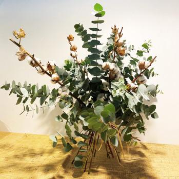 Ramo seco algodón-Rebolledo floristas